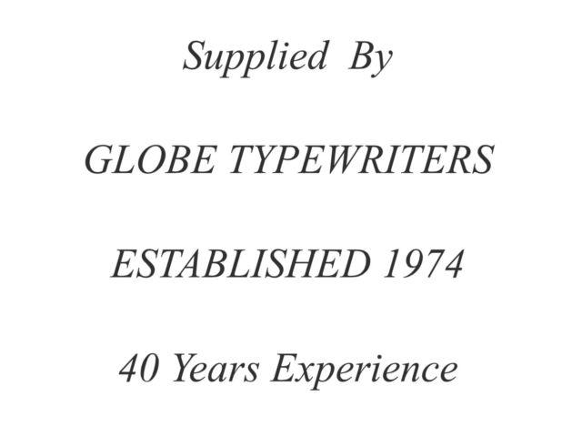 OLYMPIA SPLENDID 33//66//99 BLACK//BLACK//RED//PURPLE//GREEN//BROWN TYPEWRITER RIBBON