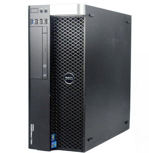Dell Precision T5600 2 x E5-2609 2 4Ghz 16GB 1TB Nvidia Q2000 1GB DVD Win  10 Pro