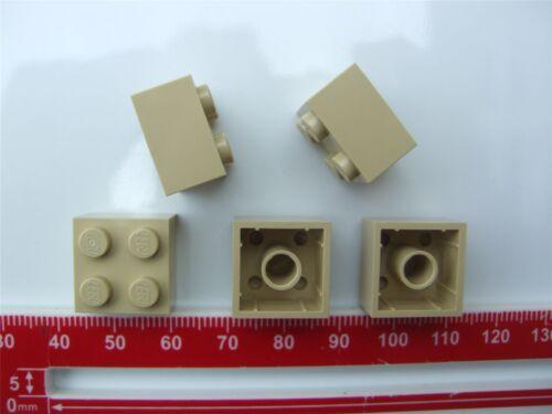 5 x Lego Brick yellow Brick Parts /& Pieces size 2x2 - 4114306