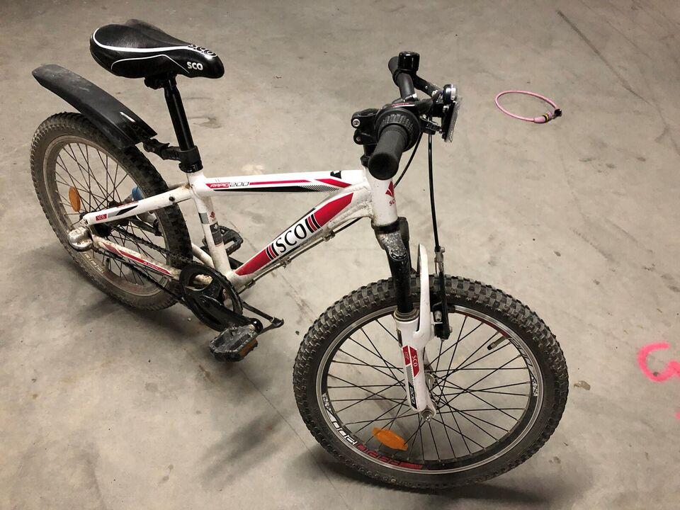 Unisex børnecykel, mountainbike, SCO