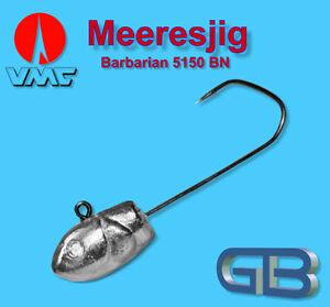 Meeresjig-Dorschbombe-42g-Jig-Bleikopf-VMC-Barbarian-5150-BN-5-0