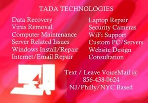 Remote Computer PC Laptop Repair Gauranteed Virus Removal Tech Support - More