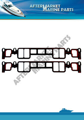 OEM MerCruiser 350 mag 5.0 V8 MPI Vortec Intake Manifold Gasket Set 27-807473A1