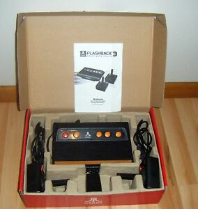 Atari flashback 3 plug and play game console 60 games inbuilt new atari 2600 ebay - Atari flashback 3 classic game console ...