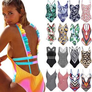 Sexy-Women-One-Piece-Swimsuit-Push-Up-Padded-Backless-Monokini-Swimwear-Bikini-O