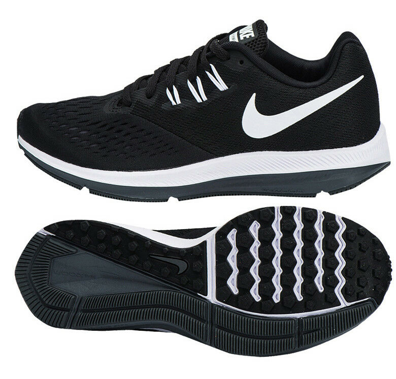 Nike Femme Zoom WINFLO 4 fonctionnement chaussures (898485-001) Trainers Runners