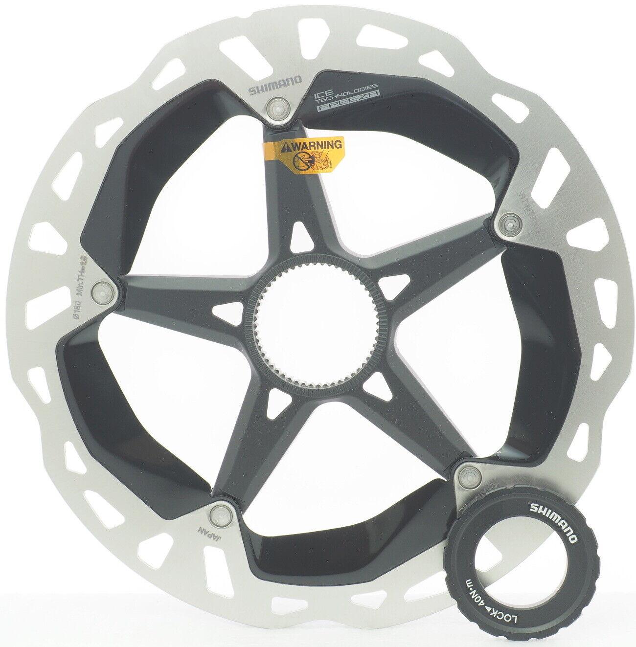 Shimano XTR RT-MT900-M ICE-TECH Center Lock Disc Brake Rotor 180mm NIB READ