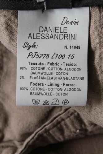 Beige Alessandrini Pj5278l1003335 Jeans Pantaloni Cotone Uomo Daniele 15 Trouser YT5w5Aq