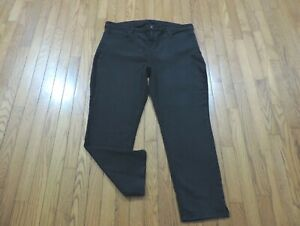 Curves-360-by-NYDJ-Shape-Slim-Straight-Leg-Ankle-Size-18-Black-Wash