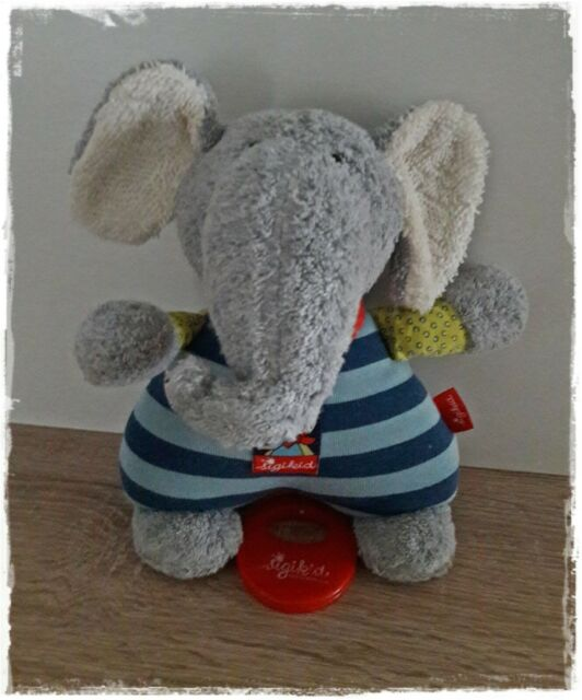 Sigikid Spieluhr Elefant Lolo Lombardo ca 22 cm Art-Nr Neu!! 48800