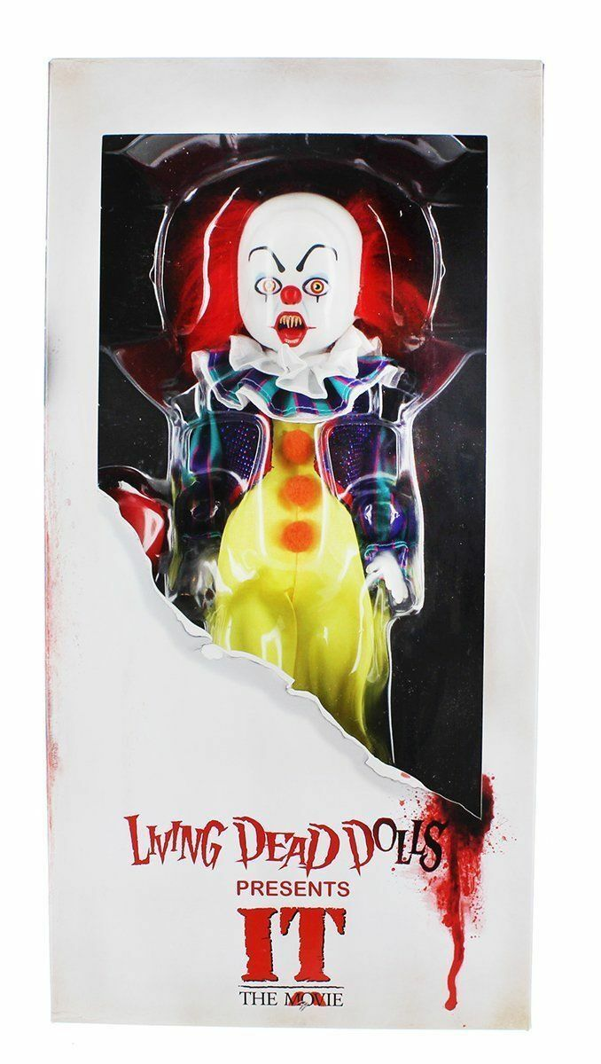LDD LIVING DEAD DOLLS Pennywise IT 1990 The Film Mezco Toys Action Figure