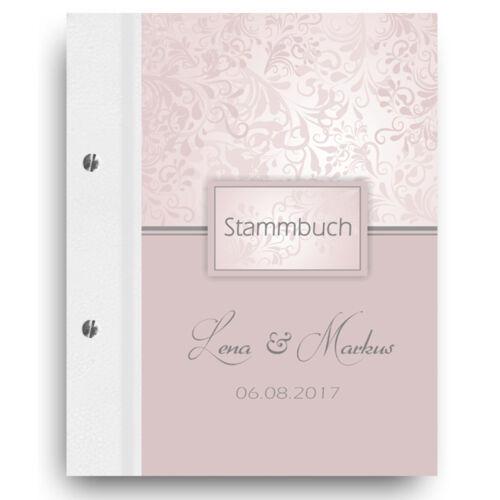 """Stammbuch der Familie Individuell Familienbuch Stammbücher /""""Charmant/"""" Stammbaum"""