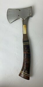 Vintage-Unbreakable-Estwing-Utility-Hatchet-Axe-See-Pictures-Hard-To-Find