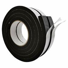 Self Adhesive Weather Stripping Rubber Insulation Foam Seal Tape 1 Wide X 3