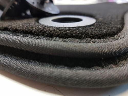 Fußmatten Ford S-MAX //// WA6 Original Qualität Velours Schwarz Automatten