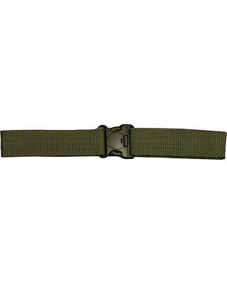 """2"""" BRITISH ARMY POLICE STYLE TACTICAL SWAT BELT -COMBAT SECURITY TA CADET RANGER"""