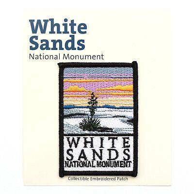 Official White Sands National Monument Souvenir Patch New Mexico Park
