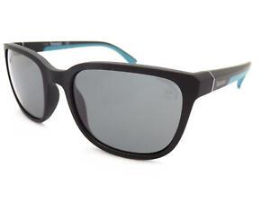 Detalles de Timberland Gafas de Sol Polarizadas Negro Mate + AzulGris Polar Lentes TB9116