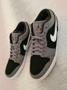 Nike-Air-Jordans-Black-And-Grey-Mens-SZ-Uk-11-Trainers-Sports-Retro-Streetwear