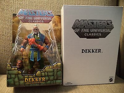 Masters of the Universe Classics DEKKER Trainer of Arms Figure MOTU W8899