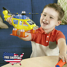 Boy Pretend Engineer Play Helicopter Toy Model Toys Plastic Toddler Kids NEW USA