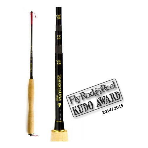 "Tenkara USA Rhodo Triple-Zoom 8/'10/""//9/'9/""//10/'6/"" Fly Rod with No Tax /& Free Ship*"