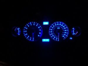led clock upgrade kit lightenUPgrade GREEN SUZUKI GSX1400 k1-k5