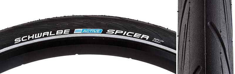 Schwalbe Spicer Tire Schwalbe Spicer KGuard 700x35 Nero  Bsk  Ref Filo