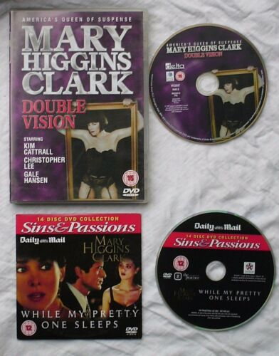 1 of 1 - 2 x Mary Higgins Clark  DVDs Double Vision & While My Pretty One Sleeps