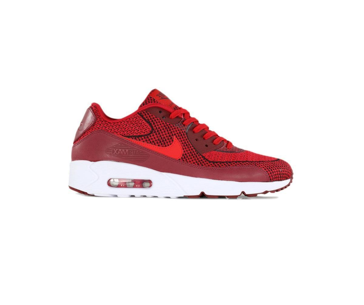 Mens NIKE AIR MAX 90 ULTRA 2.0 JCRD BR University Red Trainers 898008 600
