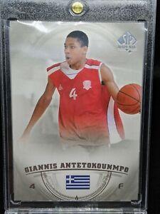 Giannis Antetokounmpo 2013 UD SP Authentic Rookie Card RC Milwaukee Bucks 🔥🔥