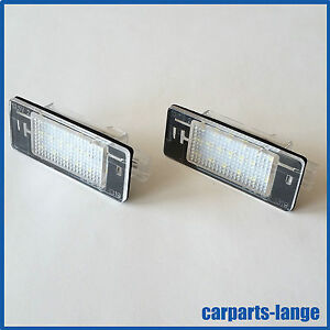 LED-SMD-Kit-Opel-Vectra-Licence-Plaque-D-039-Immatriculation-Eclairage-de-Lampe