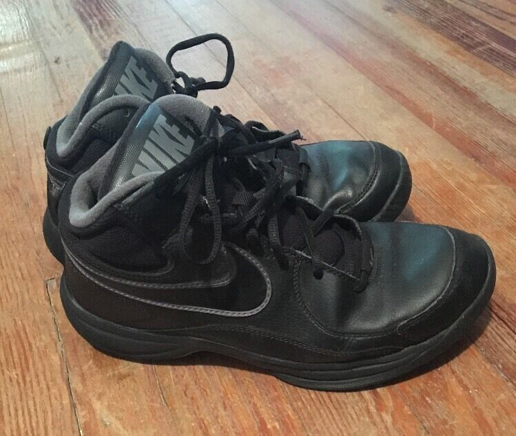 Black Gray Nike Basketball Shoes Men's Comfortable  The most popular shoes for men and women