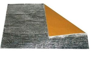 Plaque Adhesive Pare Chaleur 300 Mm X 200 Mm Resistance Neuf Exhaust Heat Shield