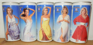 Tennent's Girls 5 cans set Issued 1988-1991 from SCOTLAND (44cl)