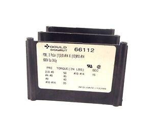 Gould-Shawmut-66112-2-Pole-1-2-0-14-x-12-10-14-Wire-Distribution-Block-600V