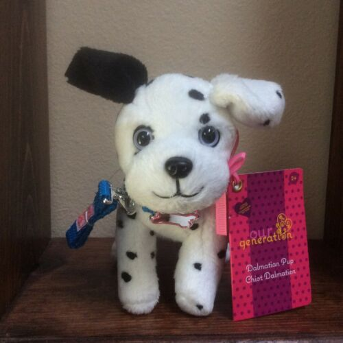 """18/"""" Doll DALMATIAN PUPPY 6"""" Dog for Our Generation American Girl Boy Pet Vet Dr"""