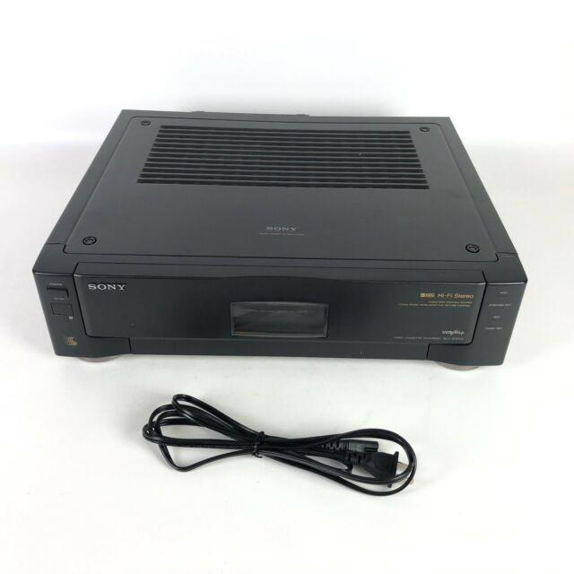Sony SLV-R1000 Super S-VHS SVHS Player Recorder HiFi Stereo VCR