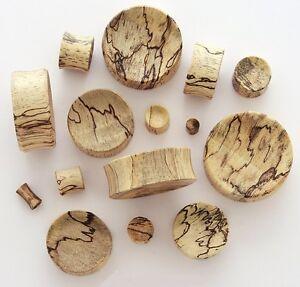 1-Pair-4G-5mm-Tamarind-Organic-Natural-Wood-Concave-Saddle-Plugs-Ear-Gauges-473