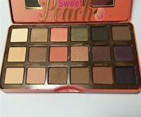 Sweet Peach Eyeshadow Palette Too Faced 18 Shades