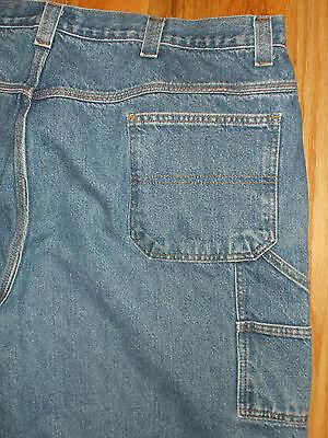 Carpenter Jeans Saddlebred Mens 50x30 BIG & TALL Blue Denim Pants 5j130