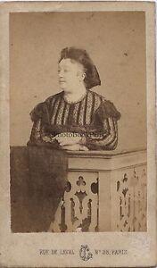 Foto Da L.Creamery Parigi CDV Vintage Albumina Ca 1860