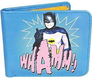 OFFICIAL DC COMICS BATMAN VINTAGE 1966 WHAMM RETRO BI FOLD WALLET GIFT BOXED