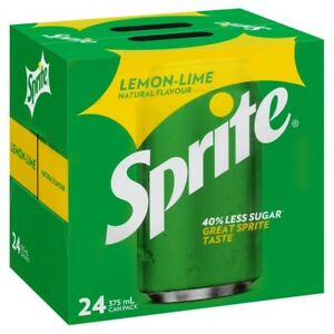 Sprite Lemon-Lime Flavour Multipack Cans 375mL 24 Pack