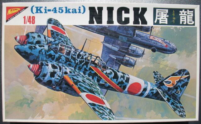 NICHIMO 4819 - Kawasaki Ki-45kai NICK - 1:48 - Flugzeug Modellbausatz - Kit