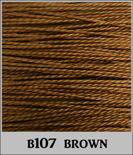 CANVAS LEATHER,etc ROT//MILDEW PROOF 15m SUPER STRONG 1mm THICK SEWING THREAD