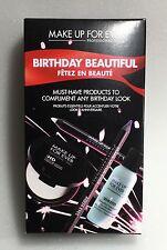 Make Up For Ever Birthday Beautiful Set NIB HD Powder Pressed Travel