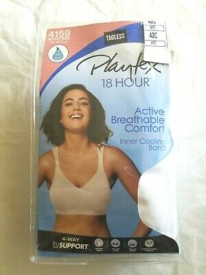 PLAYTEX 18hr COOLING COMFORT #4159 Wirefree *CHOOSE YOUR SIZE*