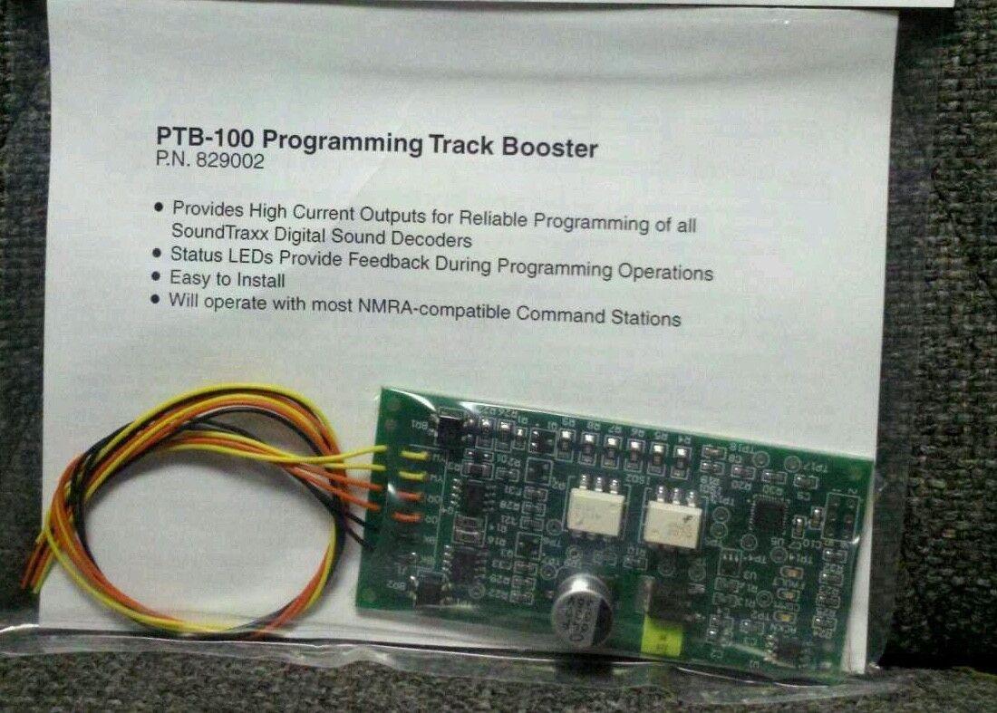 SoundTraxx 829002 Ptb-100 Decoder Programming Booster Factory ...
