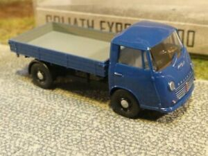 H0 Goliath Express 1100 Pritschenwagen Neu Blau Busch 94200-1//87